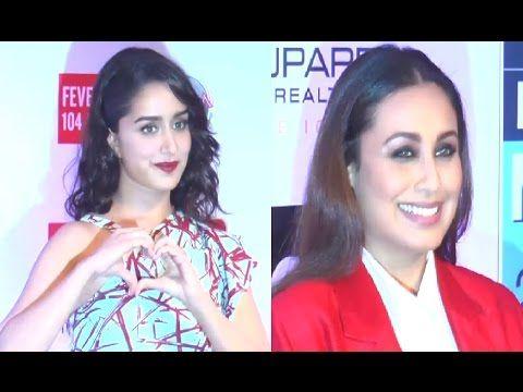 Rani Mukerji & Shraddha Kapoor at HT Most Stylish Awards 2017.