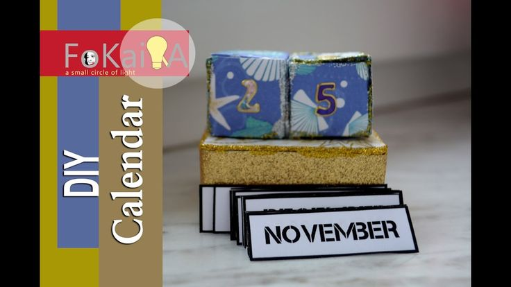 mini idea 143| New year Calendar DIY For this year and every year