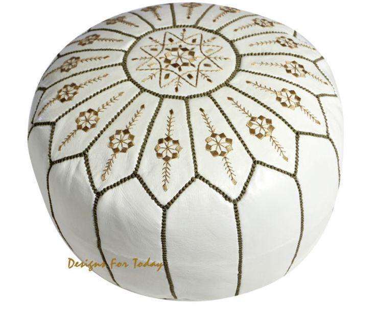 ジャスミンホワイトモロッコ革プーフ-画像-スツール&オットマン-製品ID:138614612-japanese.alibaba.com
