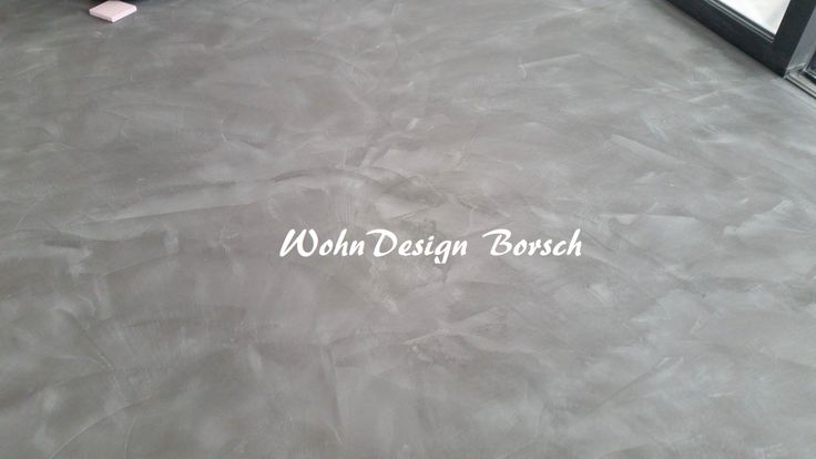 Rendezvous mit den Interior Designtrends 2018 Designspachtelboden, Mikrozement  www.fugenlos-bonn.de