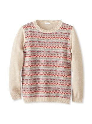 52% OFF Il Gufo Kid's Multi Sweater (Brown)
