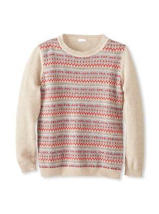 52% OFF Il Gufo Kid's Multi Sweater (Brown)