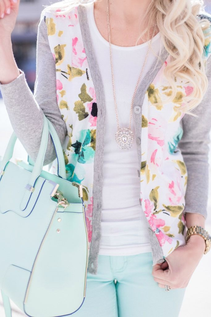 Mint + Floral