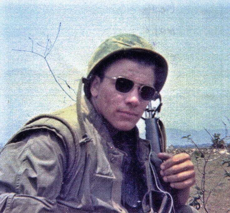 """US Marine Mark """"Kelly"""" Hage, 27th Marines. Hage was KIA 5 Aug 1968."""