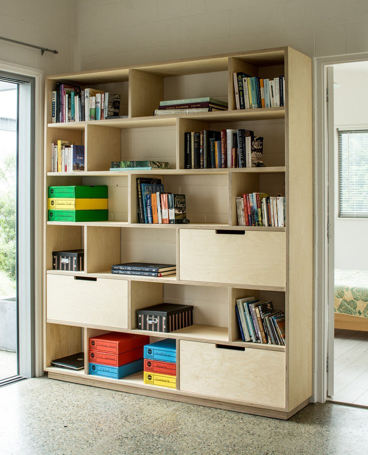Plywood bookshelf and office storage quality plywood for Furniture quality plywood