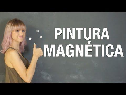 Pintura magnética: pruebas e ideas | Superholly