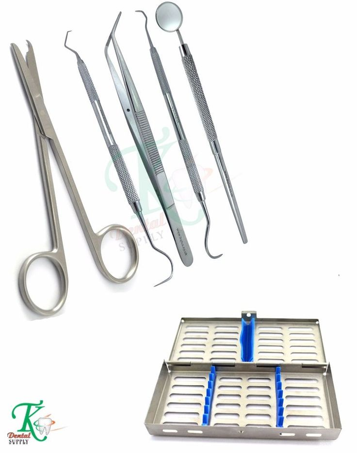 Surgical Medical Nurse Students Suture Removal Scissors Kit 7 Hold Rack Tray New #tkplus