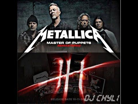 Metallica - Master of Puppets (dj chyli) - YouTube