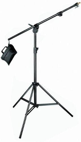Manfrotto 420B 3- Section Combi- Boom Stand with Sand Bag - Replaces 3397,3397B (Black) $149,90
