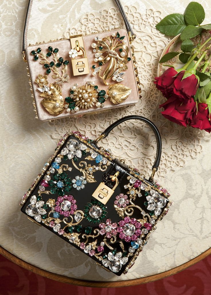 Dolce & Gabbana embellished bag.