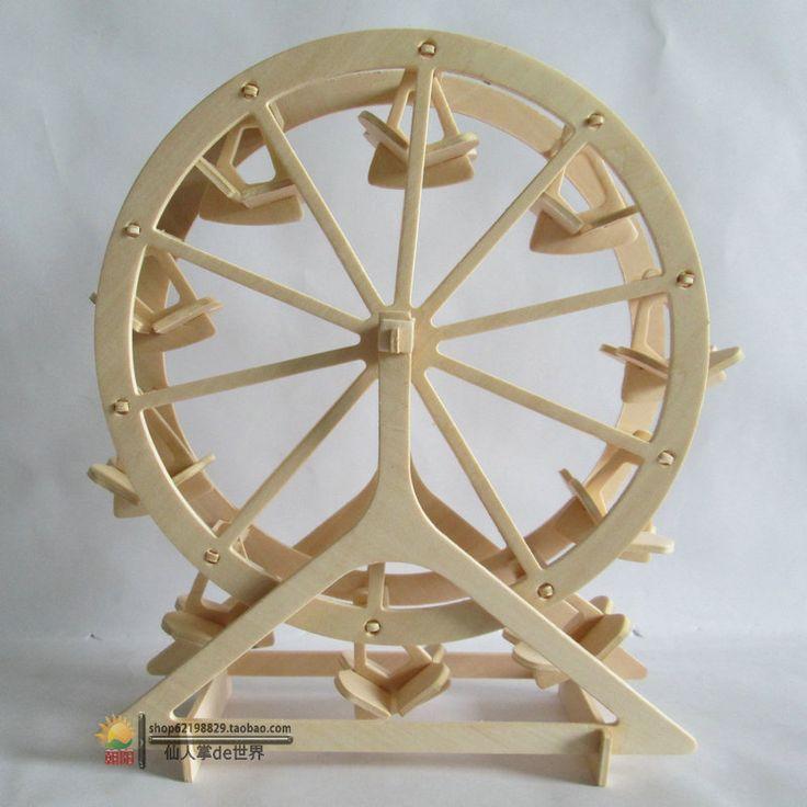 molde quebra cabeça 3d roda gigante - Pesquisa Google