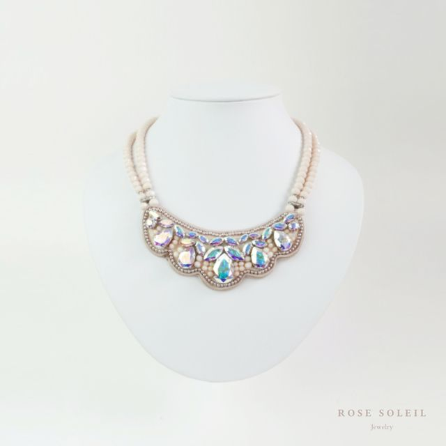 Rose Soleil Jewelry Antique Autumn Collection | ローズソレイユジュエリー ✧ クリスタルネックレス ✧ アンティークオータムコレクション