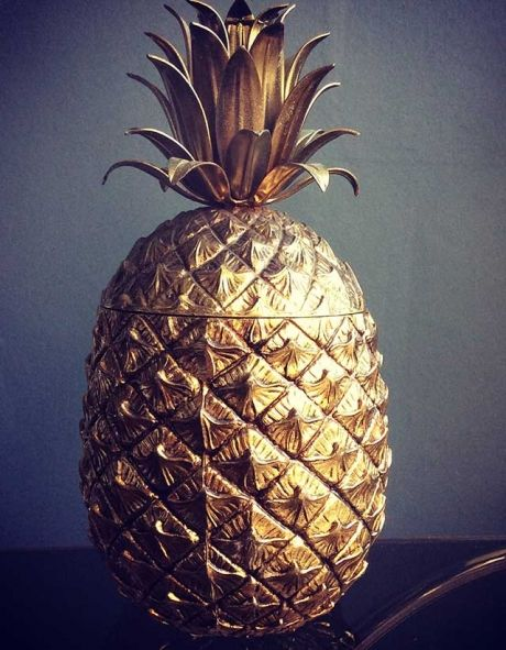 Mauro Manettit Pineapple Ice Bucket | The Mint List.  Who doesn't want one of these beauts?