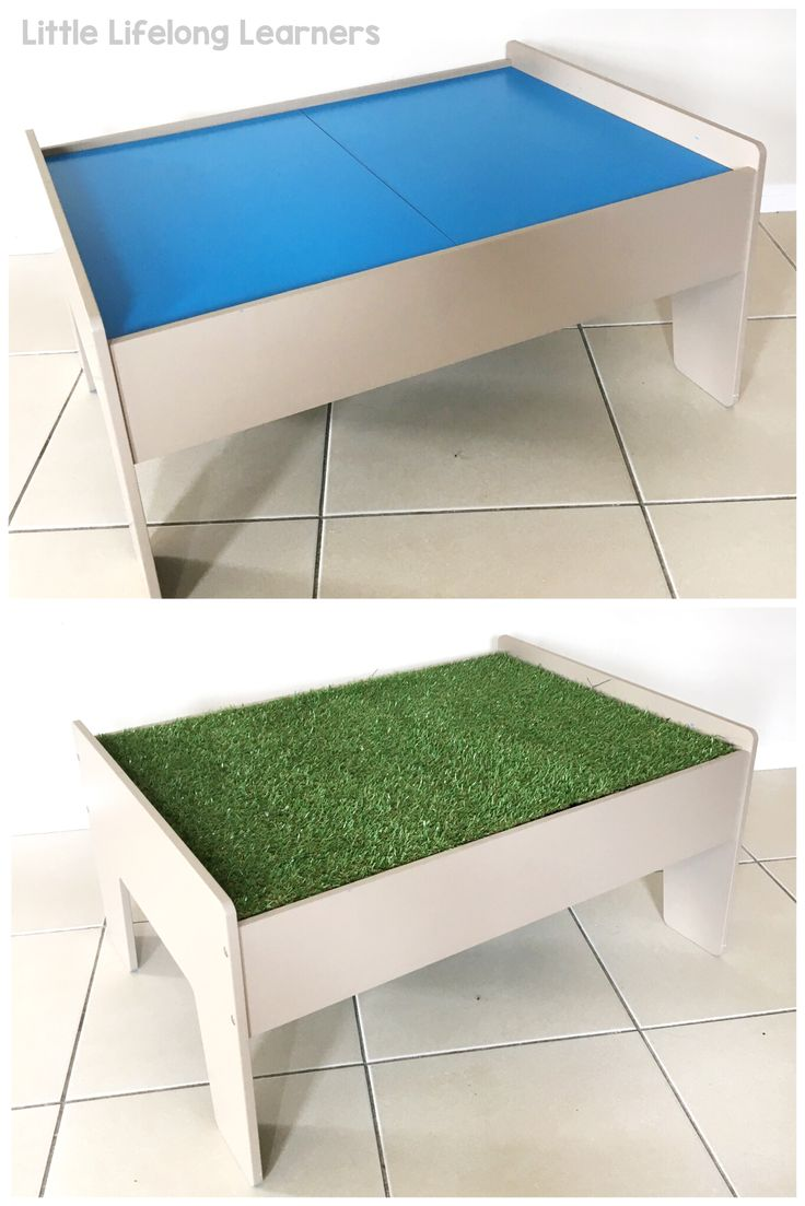 Kmart Train Table Hack for Small World Play   Imaginative Play to develop Early Language Skills   Classroom furniture hack   Play room inspiration   Prep, Kindergarten, Preschool and Foundation Classroom Inspiration