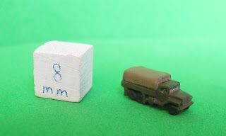 US 2 1/2 ton Truck, 3mm, Heroics and Ros