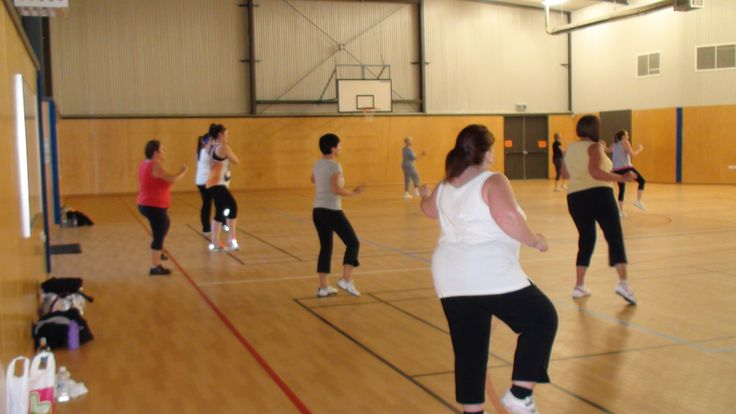 The Aussie girls rocking it out at Flagstaff Hill Primary School Gym, South Australia. 2012