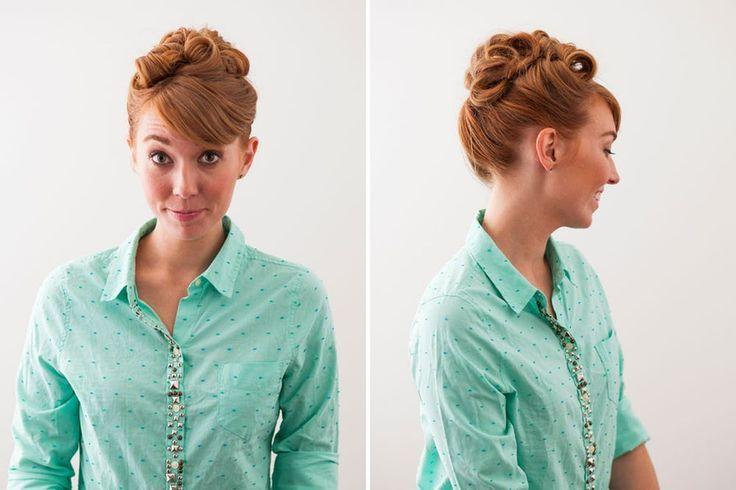 3 Retro-Frisuren mit einem modernen Touch - #einem #frisuren #modernen #retro #touch -
