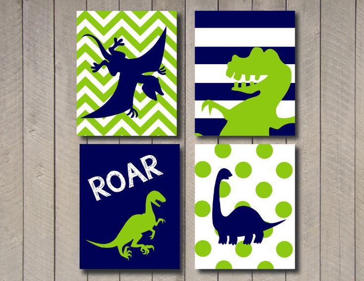 Dinosaur Art Any colors Kids Wall Art  Dinosaur by ArdenRaeDesigns, $9.00