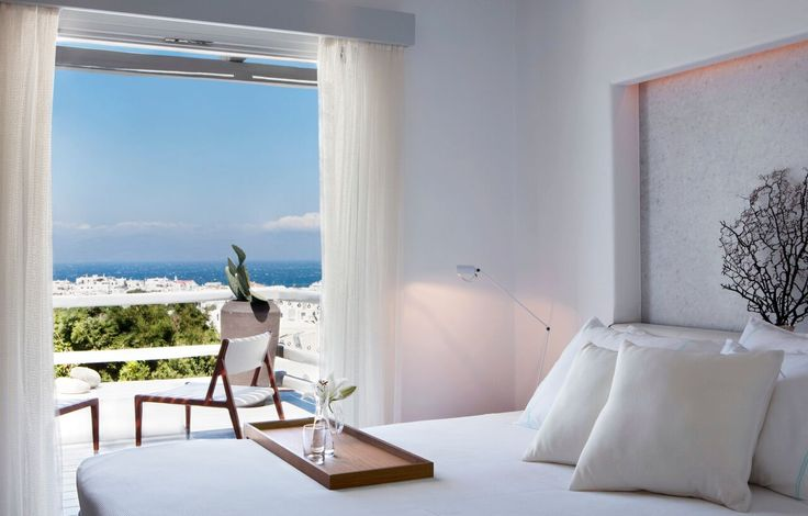 The Panoramic Suite with Spectacular Sea View is a unique accommodation suite with great views