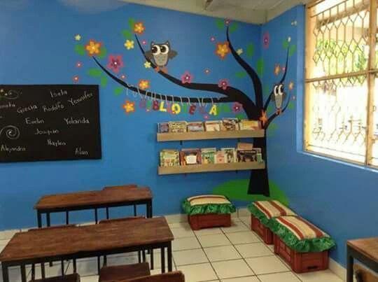 Resultado de imagem para decorado de salon de clases preescolar
