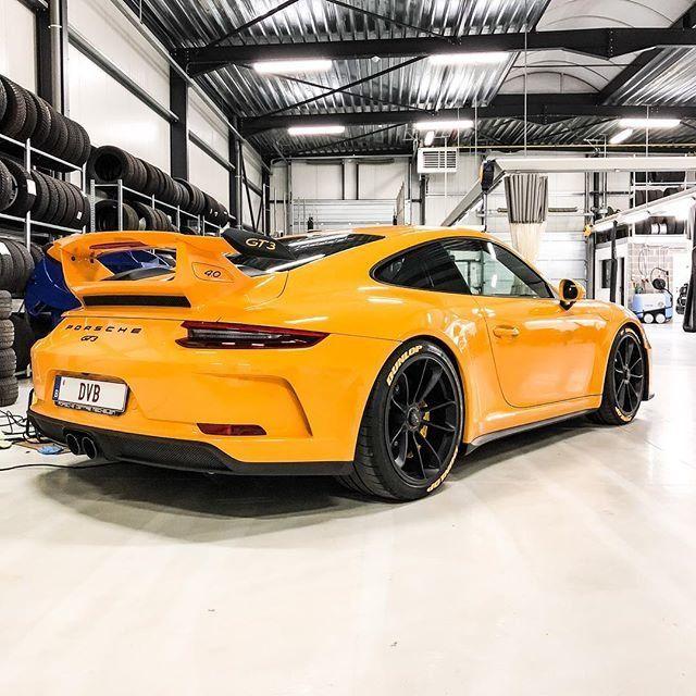 Real Handmade Carbon Fiber License Plate Frame Porsche 911 Turbo S Yellow