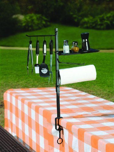 BBQ Accessory Outdoor Cooking Camping Grill Tool Utensil Holder Organizer Store #Maverick