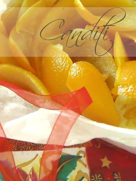 Ricetta canditi arancia |Pane e Cioccolato