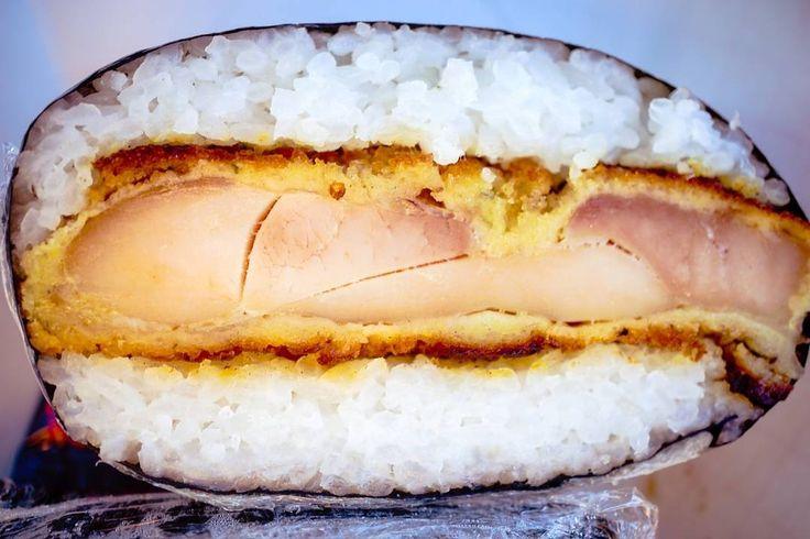 Chicken katsu musubi from @musukawas - - - - - #imenehunes #food #musubi #spammusubi #foodtruck