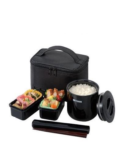 Tiger LWY-E036 Thermal Lunch Box, Black