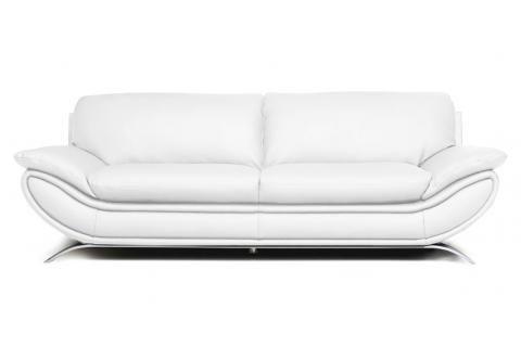 Ce canapé ravira les amoureux de courbes sensuelles.