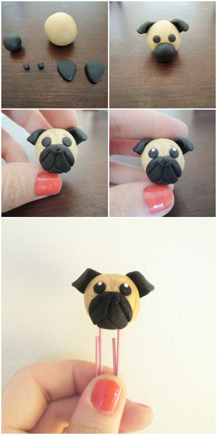 DIY Pug Bookmark