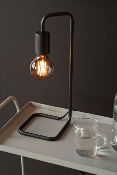 Telegram Co - Dark & Stormy Collection - Desk Lamp - The Butler. Get your #desk #lighting at NoteMaker.com.au.