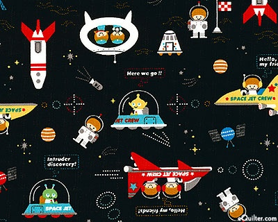 Outer space adventure hoarding fabric pinterest for Outer space fabric panel
