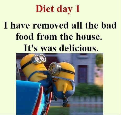The typo really bothers me, but I still think this is funny. | 30 Funny Minion picture Quotes