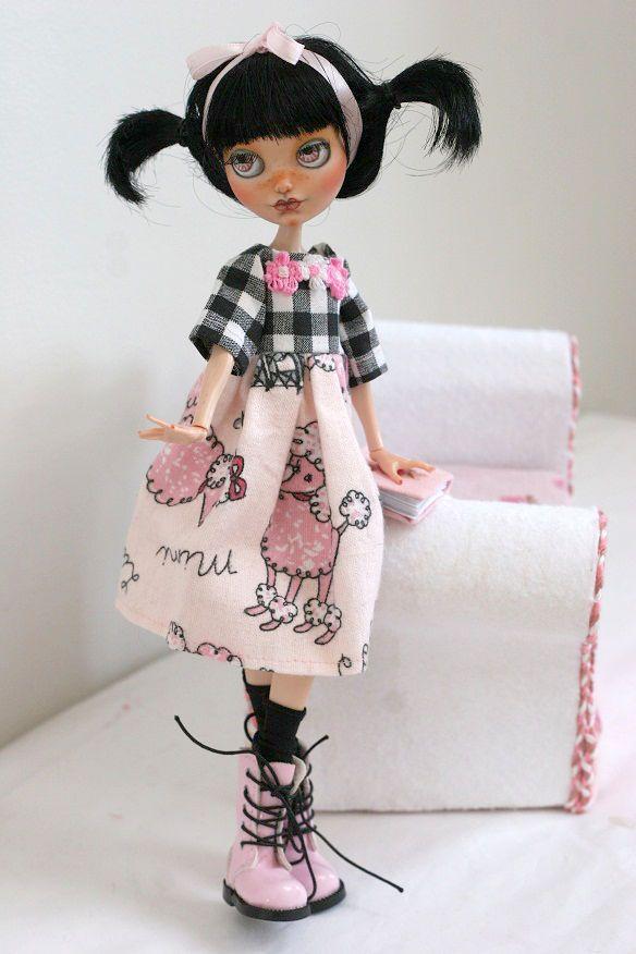 Ooak Custom Ever After High Monster High Doll Poppy O'Hair Repaint LIL Pinkie   eBay
