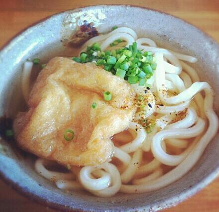 Kitsune Udon. Delicious !