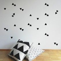 MSL Triangle Freckles Black