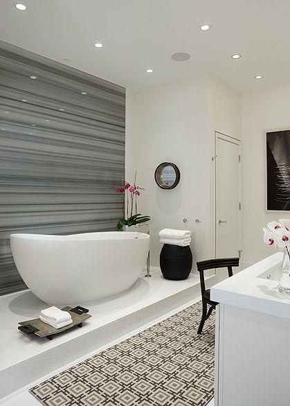 cheapest retreat for moms: bathroom