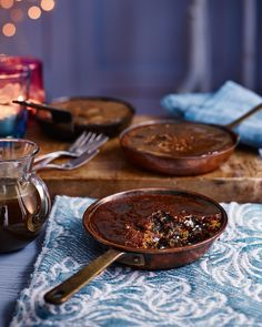 Like sticky toffee pudding but with extra oomph from ginger and walnuts- this is a must try recipe for any pudding lover.