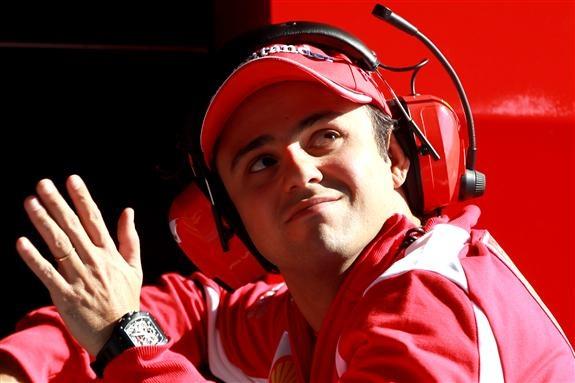 Felipe Massa in Barcelona