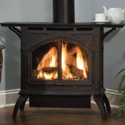 Heritage Premium Small Direct Vent Cast Iron Stove (Electronic Ignition) - Empire Comfort Systems