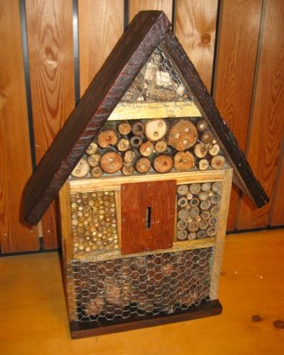 ideas for insect/ bee house