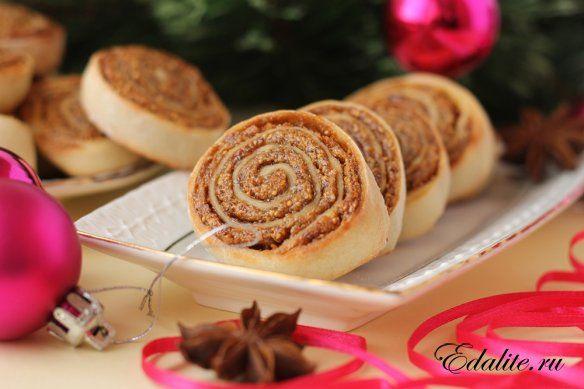Творожное печенье с инжиром — 46 ккал*