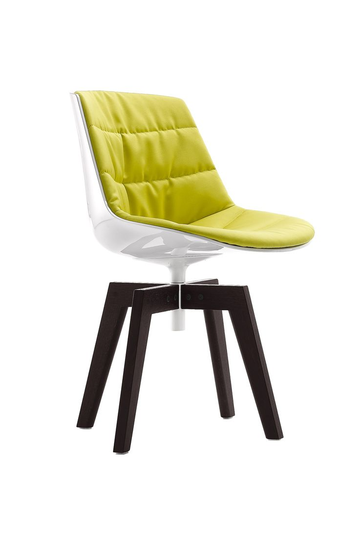 Broom chair for emeco in 2012 to showcase the properties of a new wood - Flow Chair By Mdf Italia Design Jean Marie Massaud