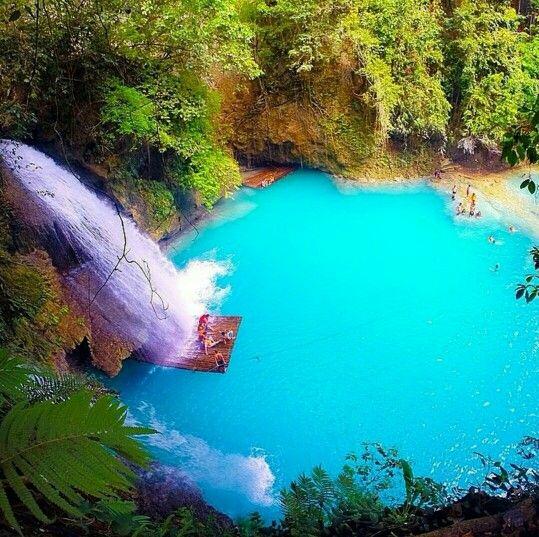 Kawasan Falls Cebu Philippines Places I Want To Visit Pinterest Philippines Cebu And Fall