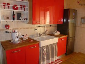 100%LOVE: kitchen... Cucina Country??