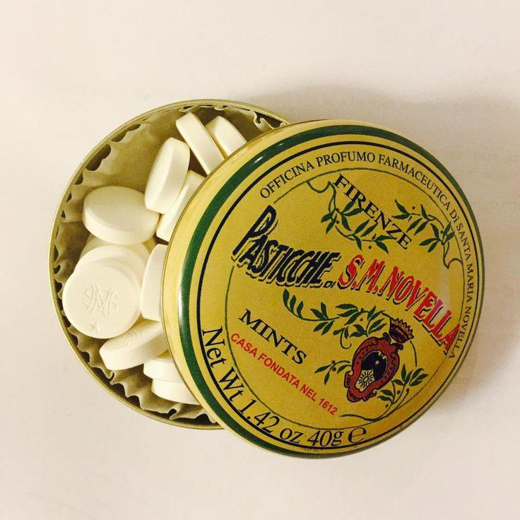 「サンタ・マリア・ノヴェッラ」のミント。 一粒が大きくて美味しいです