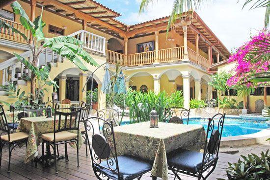 HOTEL COLONIAL GRANADA | Colonial Architecture / interiors | Pinterest