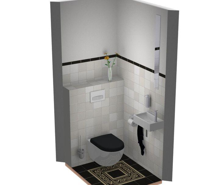 52 besten toilet ide en bilder auf pinterest - Kleur toilet idee ...