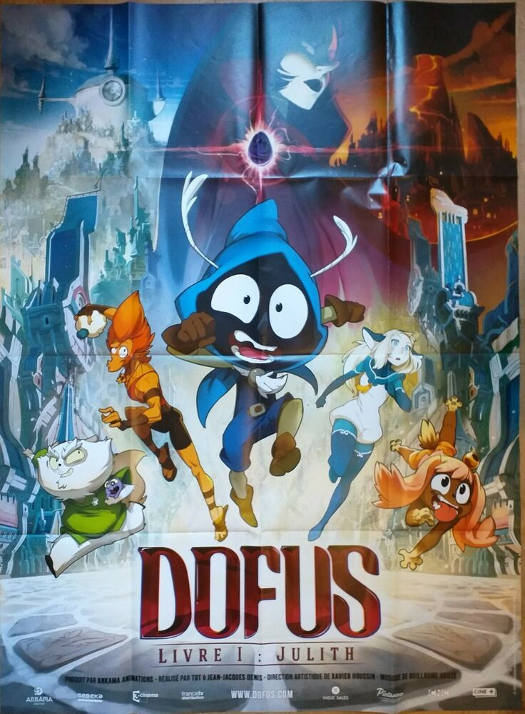 Dofus - Livre 1 : Julith : dofus, livre, julith, Affiche, Cinéma, Originale, DOFUS, Livre, Julith, Cinéma,, Dofus,, Posters, Films